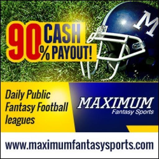 Maximum Fantasy Sports Opens Mid-Season Fantasy Football Leagues