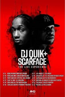 DJ QUIK + SCARFACE - The Live Experience; West Coast Tour 2017