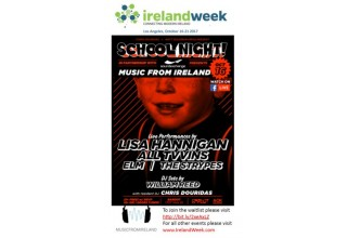 IrelandWeek and KCRW to Host School Night  Presented by Music From Ireland
