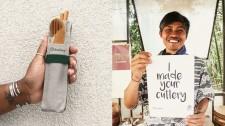 Duebest's Fair Trade Reusable Cutlery Set
