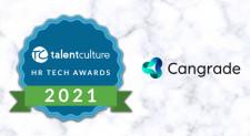 Cangrade is a 2021 TalentCulture HR Tech Award Winner