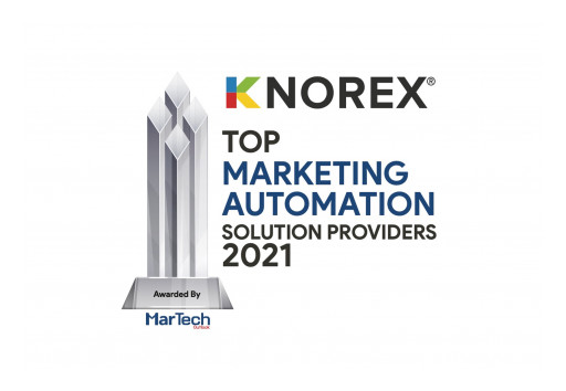 Knorex Named as Top 10 Marketing Automation Platform Solution Provider in 2021 by MarTech Outlook