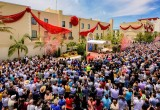 More than 3,000 Scientologists and friends gathered in Clearwater, Florida for the grand opening of two landmark buildings on Saturday, June 25, 2016—the West Coast Building and the Flag Crew Administration Building.