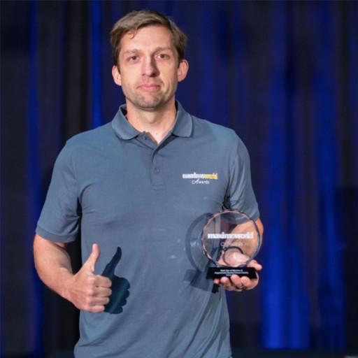 First European Company to win the Maximo World Award!