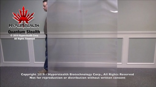 Hyperstealth Corp. Discloses Patent Pending Invisibility Cloak