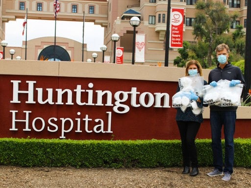 Family-Owned LifeSource Water Systems Thanks the Medical Team at Huntington Hospital With Donation of N95 Masks