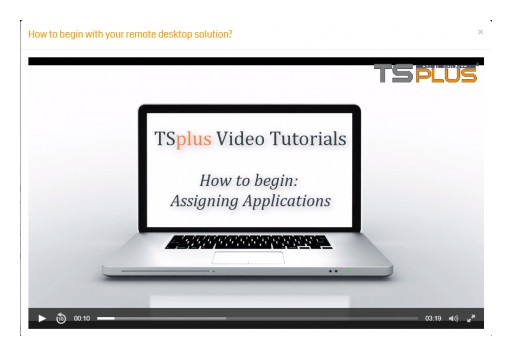 Easily Assign Applications to Remote Users With TSplus Remote Desktop Service