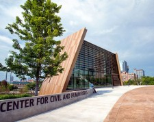 Atlanta's National Center for Civil and Human Rights  (Credit: Gene Phillips Photography)