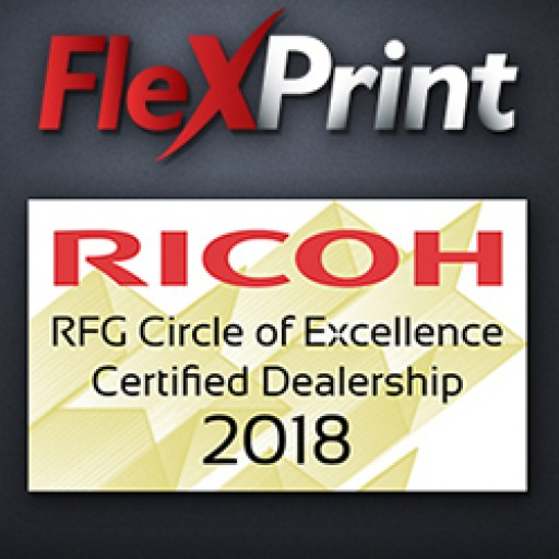 FlexPrint LLC Recognized as 'Best of the Best' With Ricoh Circle of Excellence