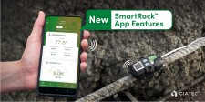 SmartRock™ Mobile App Update Provides Contractors In-Depth View of Concrete Testing Data