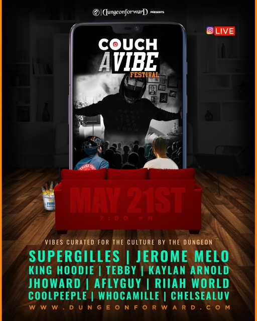 Dungeon Forward Presents Couch A Vibe Festival