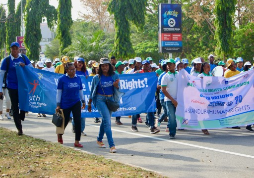 Youth for Human Rights Nigeria Takes on the Challenge of a Better Future
