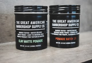 New Great American Barbershop Pomades