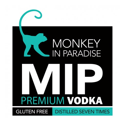 Monkey in Paradise (MIP) Premium Vodka Wins the Double Gold Medal at the 2017 San Francisco World Spirits Competition