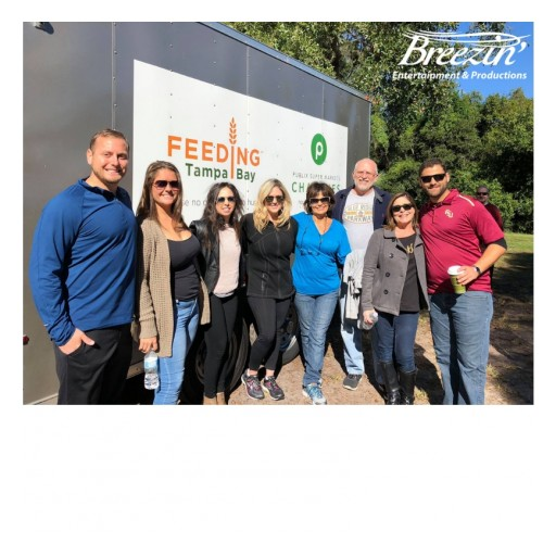 Breezin' Entertainment & Productions Joins Community Food Pantry to Give Back This Thanksgiving Holiday