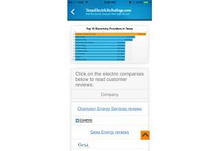 Compare Texas Electricity Providers