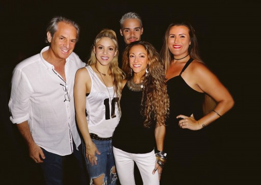 Mega Star Shakira Debuts Her New Album at the Temple House