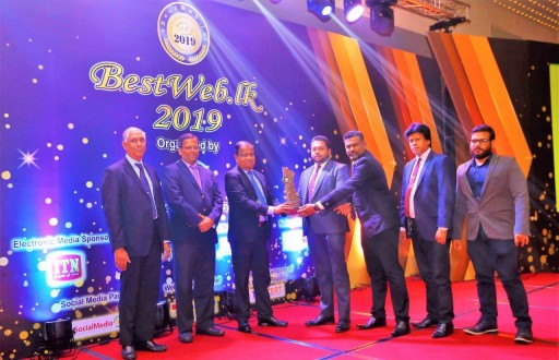 HNB Finance Bags Gold and Silver at BestWeb.lk 2019 Awards