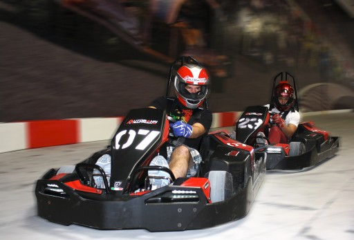 Autobahn Indoor Speedway Go-Kart Experiment May Settle the 'Are  Race Car Drivers Athletes?' Debate