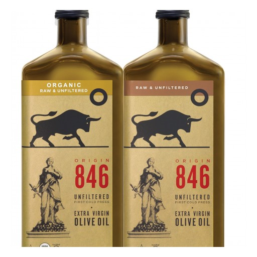 CHO America Introduces Origin 846 Their Premium Unfiltered Unprocessed Organic and Conventional Extra Virgin Olive Oil