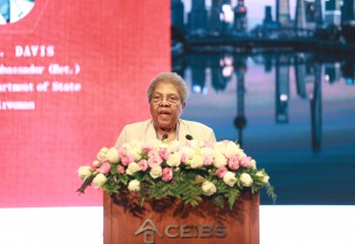 IWEC Chairwoman Ruth A. Davis