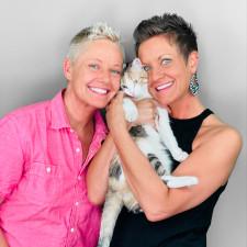 Two Crazy Cat Ladies