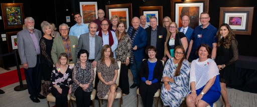 Collectors Gather in Vegas for Sir Anthony Hopkins Art Exhibition, Presented by Harte International Galleries