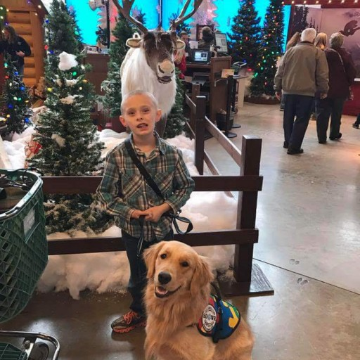 Service Dogs by Warren Retreivers Delivers Autism Response Dog to Child in PA