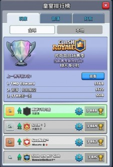 Top 1 player of Clash Royale