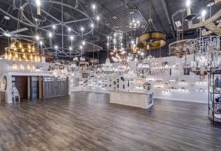 Beautiful design showroom