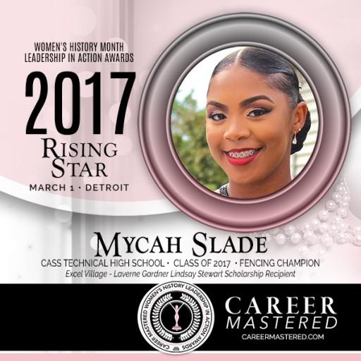 Excel Village Scholarship Awarded to Mycah Slade