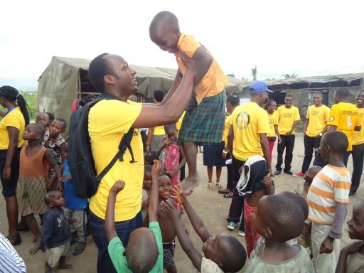 Providing Help in Burundi Displacement Camps