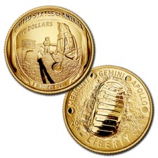 Apollo 11 50th Anniversary Gold Commemorative