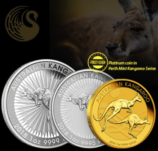 New 2018 Kangaroo Release From Perth Mint