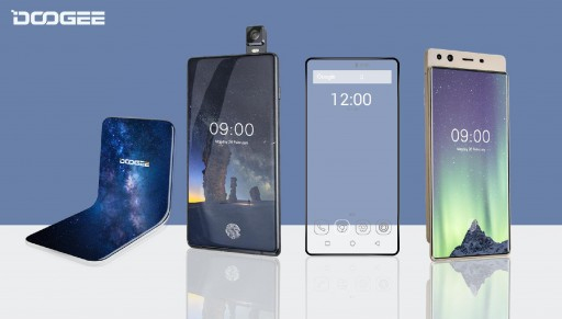 Four Revolutionary DOOGEE Smartphones Hit the Market With Futuristic Tech