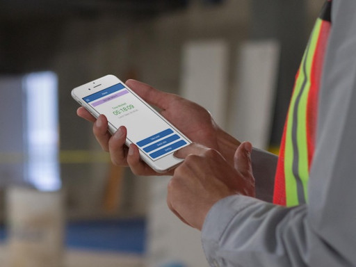 BuildCenter's Digital Time Card for the Construction Industry