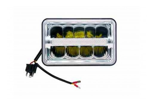 Larson Electronics Releases 4x6 External LED Automotive Headlight, 45W, Low/High Beam, 10-30V DC