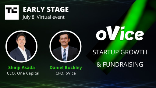 oVice Top 1 Virtual Spatial Platform in Japan Sponsors TechCrunch Early Stage 2021 Event