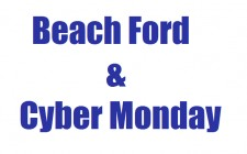 BEACH FORD & CYBER MONDAY