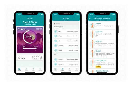 Sajdah Mobile App Launched Ahead of Ramadan