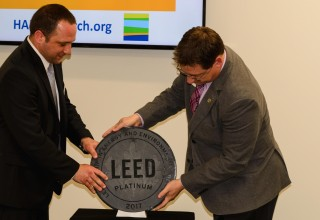 HARC and USGBC Plaque Unveiling
