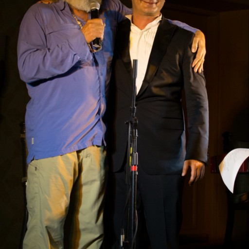 Oscar Winning Actor Jeff Bridges and Crooner Brian Evans Rock Maui at Concert