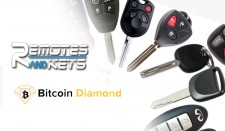 Remotes And Keys Logo with Bitcoin Diamond (BCD)