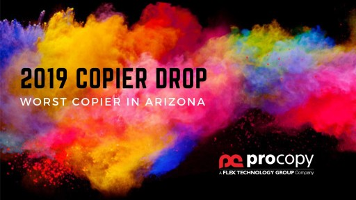 ProCopy Announces the Winner of Their 9th Annual Worst Copier Drop
