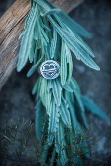Judie's Heart Sterling Silver Ring