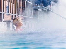 Taking the waters at Glenwood Hot Springs
