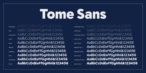 Delve Fonts Launches New Website, Releases New Variable Font 'Tome Sans'