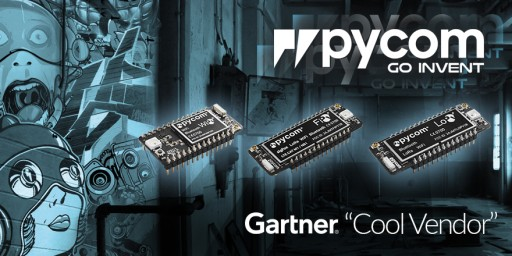 European IoT Startup Pycom Named Cool Vendor in Gartner Internet of Things Report
