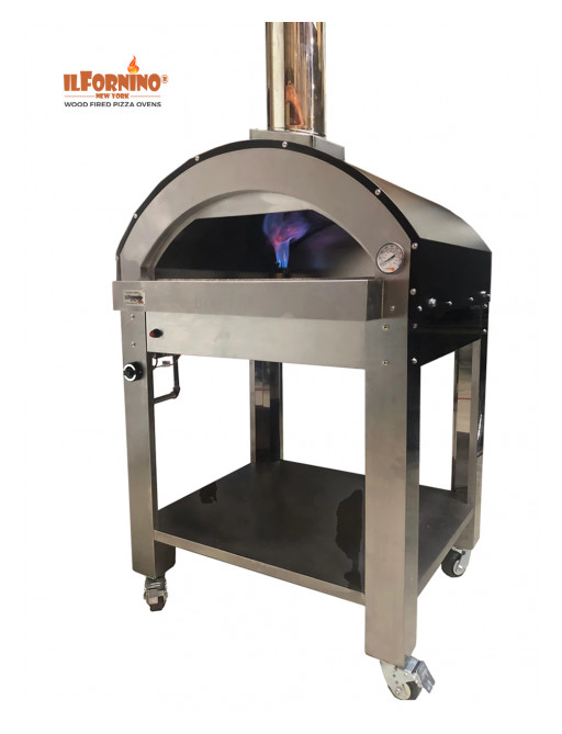 IlFornino New York Launches the New Line of Dual Fuel Pizza Ovens - Gas and Wood