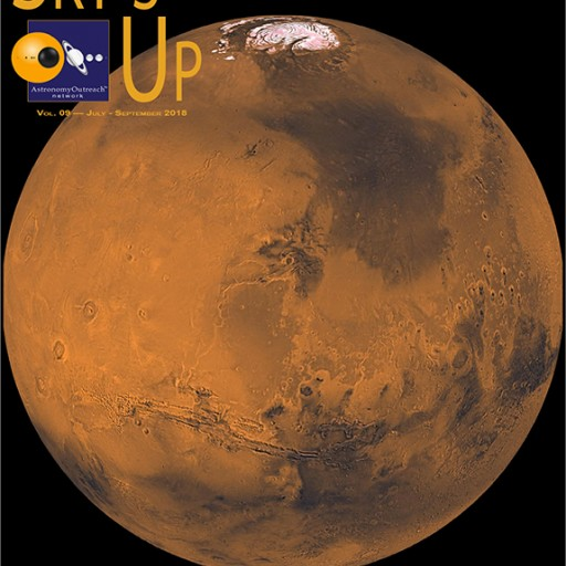 Sky's Up Magazine Spotlights Mars in Latest Issue
